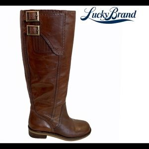 LUCKY BRAND Andria Riding Boots 6.5